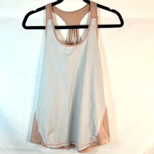 Body athletic pale pink basic tank top
